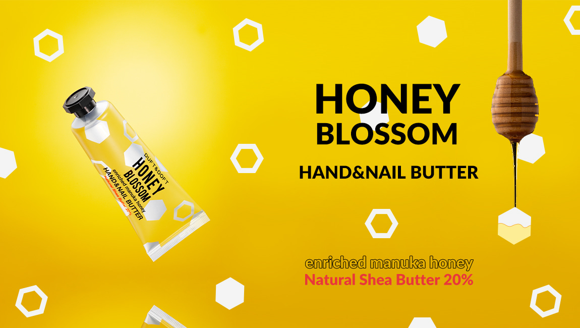 Duft and Doft honey blossom hand and nail butter
