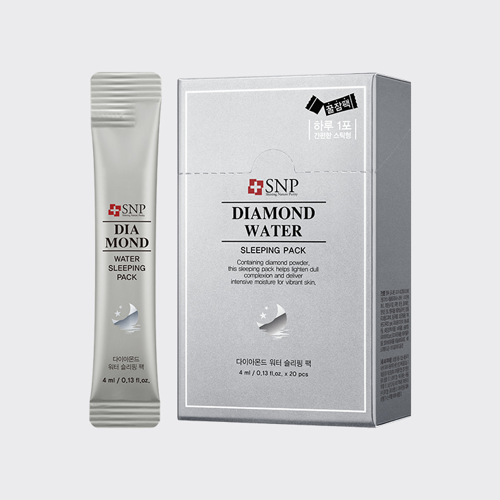 SNP Diamond Water Sleeping Pack,K Beauty
