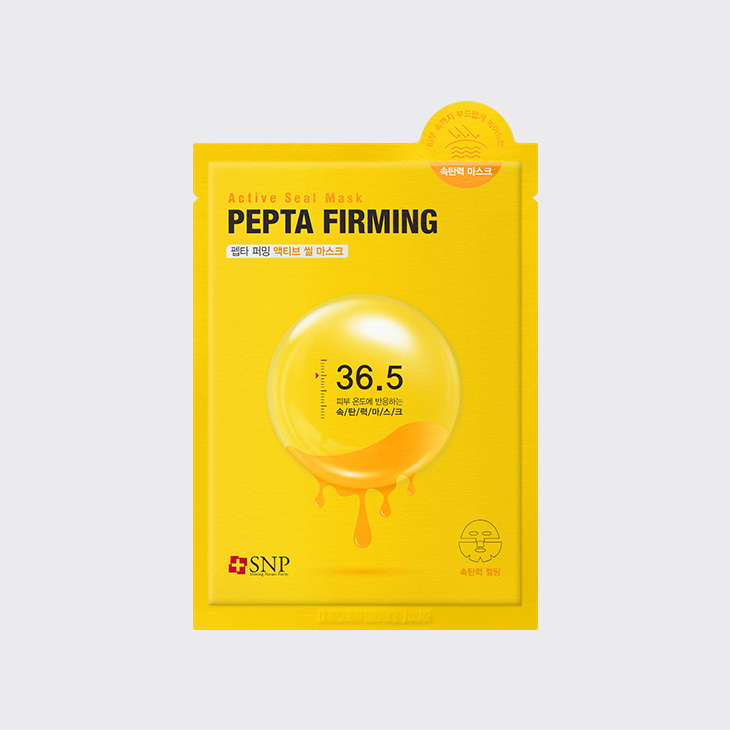SNP Pepta Firming Active Seal Mask,K Beauty