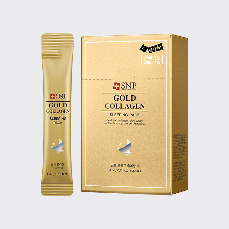 SNP Gold Collagen Sleeping Pack,K Beauty