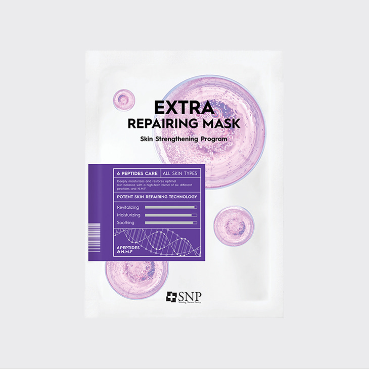 SNP Extra Repairing Mask,K Beauty