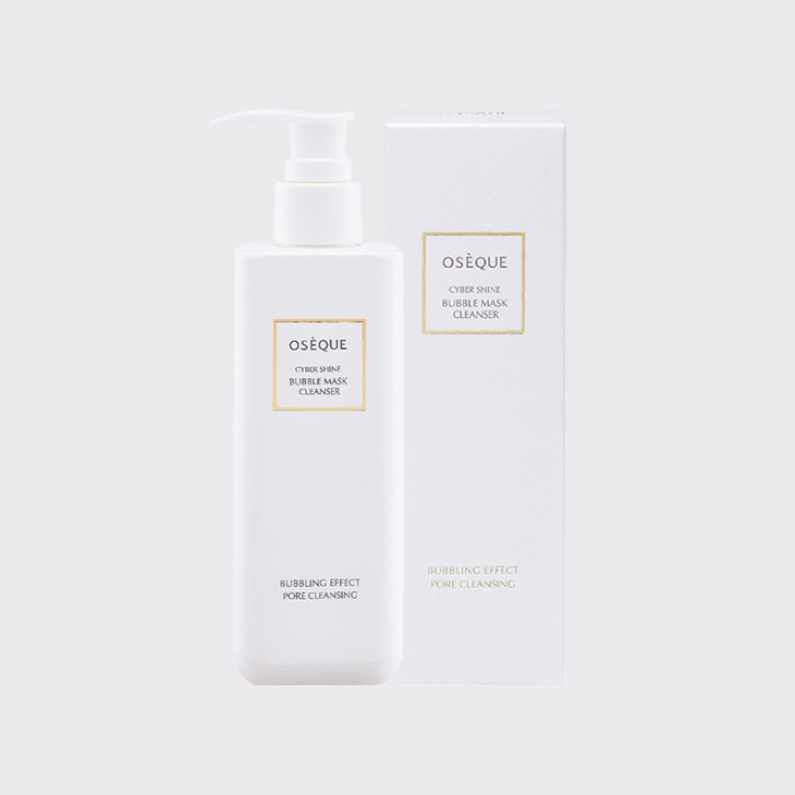 OSEQUE Cyber Shine Bubble Mask Cleanser,K Beauty