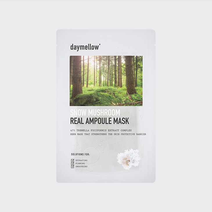 DAYMELLOW Snow Mushroom Real Ampoule Mask,K Beauty