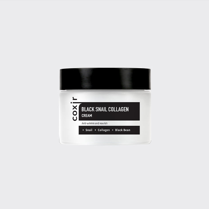 COXIR Black Snail Collagen Cream,K Beauty