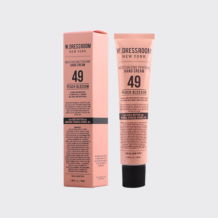 W.DRESSROOM Perfume Hand Cream No.49 Peach Blossom,K Beauty