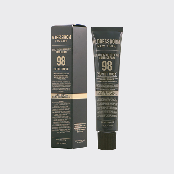 W.DRESSROOM Perfume Hand Cream No.98 Secret Musk,K Beauty