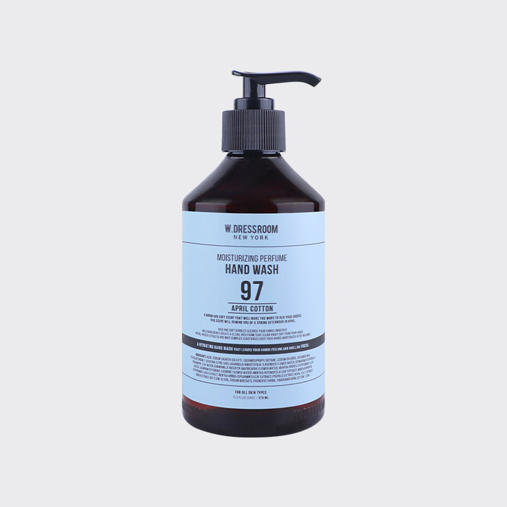 W.DRESSROOM Moisturizing Perfume Hand Wash No.97 April Cotton,K Beauty