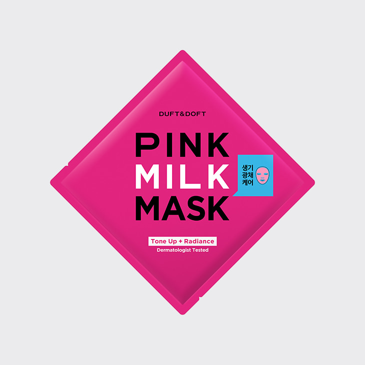 DUFT&DOFT Pink Milk Mask,K Beauty