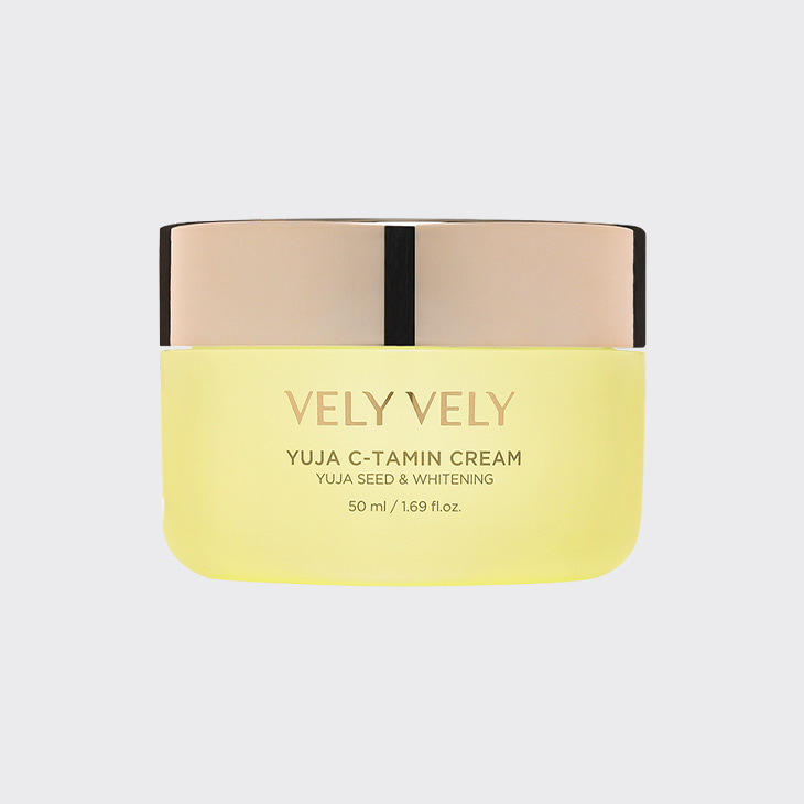 VELYVELY Yuja C-Tamin Cream,K Beauty