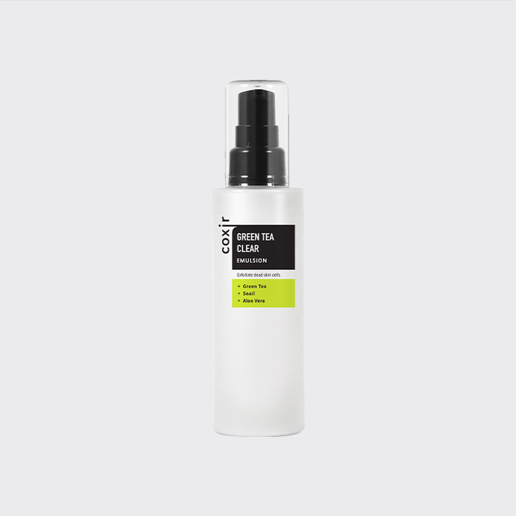 COXIR Greentea Clear Emulsion,K Beauty